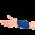 Налокотники с точечным нанесением турмалина (2 шт.)